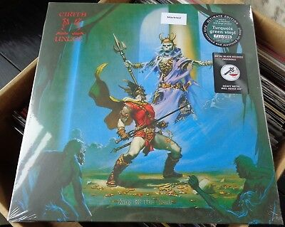 NB13Cirith UngolKing of the DeadTURQUOISE VINYL LP ! #133 OF 200 ! *SALE* NEW