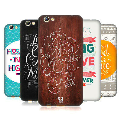 Head Case Designs Famous Bible Verses Soft Gel Case For Oppo Phones