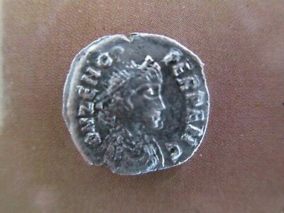 Odovacar  in the name of Zeno.Silver Half-Siliqua, AD 473-493.,