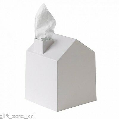 Umbra CASA House Shaped TISSUE BOX COVER - WHITE