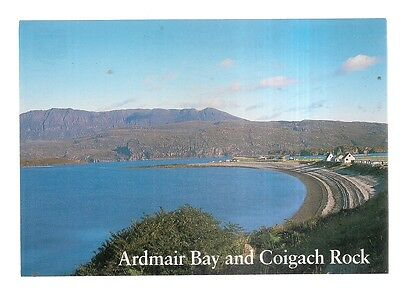 ARDMAIR BAY AND COIGACH ROCK, ROSS-SHIRE  unused vintage postcard