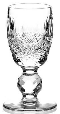 "Waterford Crystal Colleen Cordial Stemware 3 1/4"" Short Stem - Mint"