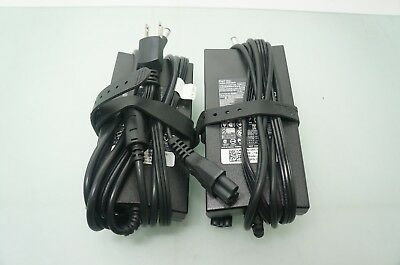 Lot of 2 Dell Genuine Original PA-4E Family DA130PE1 19.5V 130W Power Adapter