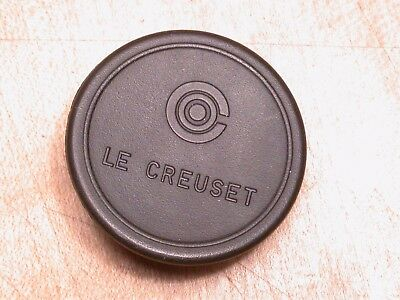 Vintage Le Creuset Cast Iron French Pan Pot Lid Replacement Handle
