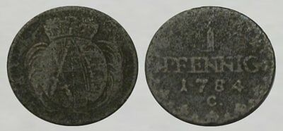 * EXCELLENT !! * Colonial Era Coin dated 1784 *