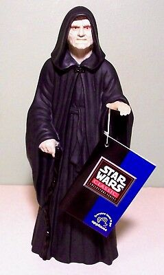New Star Wars Emperor Palpatine Vinyl Action Figure by Applause