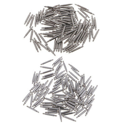 1.5mm Watch Pin Spring Bars 10mm/8mm, Alloy , Silver Watch Component 100pcs