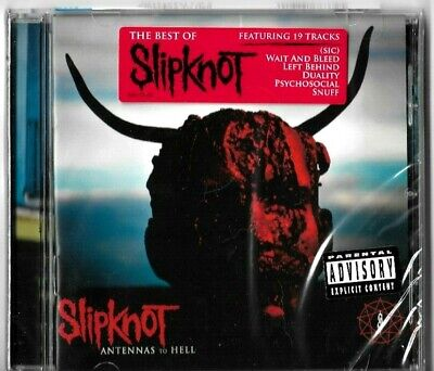 Slipknot Antennas to Hell The Best Explicit [PA] CD [Latest Pressing] New Sealed