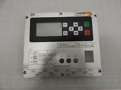 REO MTS443 Thyristor Controller for Vibratory Feeder Front Panel T60405