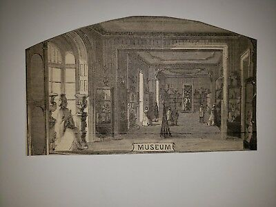 Brooklyn New York  Fair Sanitary Commission Museum  1864 HW Sketch