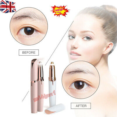 Electric Flawless Instant Hair Remover For Brow Eyebrow Hair Removal Pen Safe UK