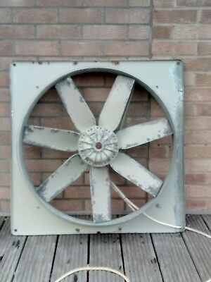 large industrial agricultural extractor fan