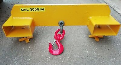 3 ton Forklift attachment hook