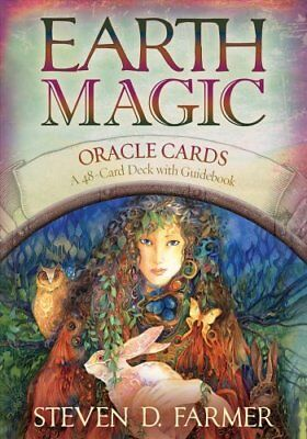 Earth Magic Oracle Cards by Steven Farmer (Paperback, 2010)