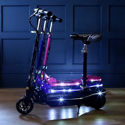 Rocket E10 24V 120W Rechargeable Battery Operated Electric Scooter - 3 Colours