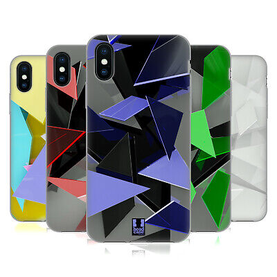 HEAD CASE DESIGNS GLASS FRAGMENTS SOFT GEL CASE FOR APPLE iPHONE PHONES