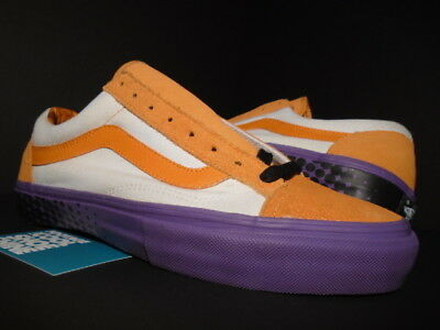 95ee0f08a8b7ce 2007 Vans Old Skool Supreme Halftone Orange Purple Heart White 6440476-095  9.5