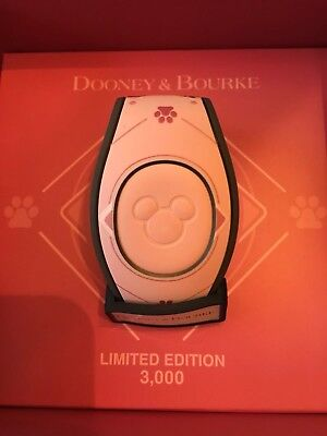 NWT Dooney Bourke Pink Dogs Magicband 2 Limited Edition 3000 Magic Band