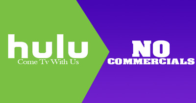 Hulu Premium Account NO COMMERCIALS - 12 MONTHS WARRANTY - Fast Delivery