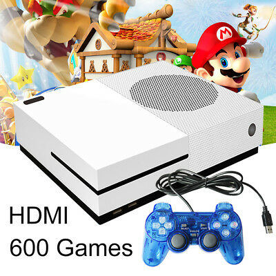 Retro Home TV Video Game Console RS-89t 32 bit Built-in 600 Games 2 Gamepads