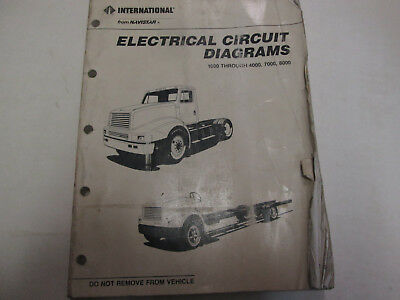international from navistar electrical circuit diagrams 1000 to 4000 on international  dt466 truck wiring diagrams,