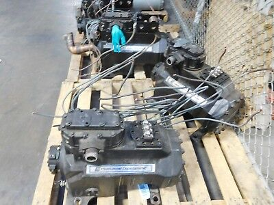 Used Copeland 3DT31500TFD Semi-hermetic Water-Cooled Condensing Unit.