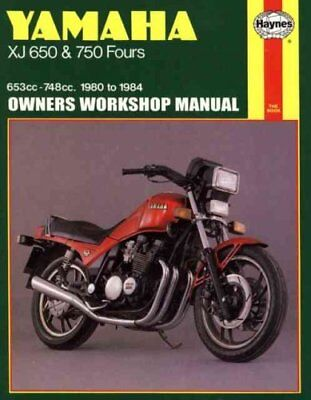 Yamaha XJ650 and 750 Fours 1980-84 Owner's Workshop Manual by Pete Shoemark...
