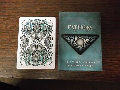 "SUPERB PACK ""Bicycle Type - Fathom (SUPERB)"" Pack of Playing Cards"