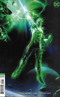 Green Lantern Comic Issue 2 Limited Variant Modern Age First Print 2019 Morrison