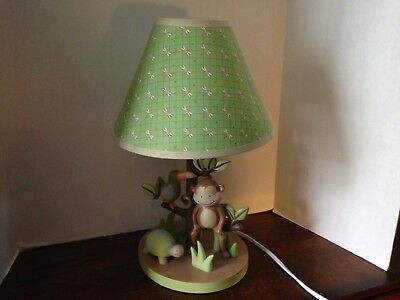 """Child's Room Jungle Themed Table Lamp; Approx. 14"""" Tall;"""