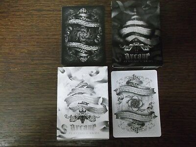 "2 x Different PACKS ""Bicycle Type - Arcane (SUPERB)"" Packs of Playing Cards"