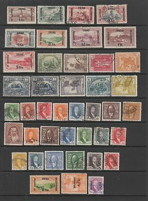 Iraq 1918 - 1932 collection, 42 stamps MH or Used