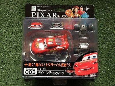 Disney Pixar Cars Revoltech Kaiyodo Series No 003 Lightning Mcqueen New