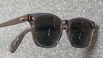 American Optical AO Vintage Safety Glasses Frames 1950's Heavy Etched Metal