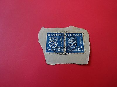 Finland Suomi 2 1/2 Markkaa Stamps Used