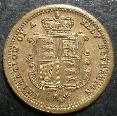 Toy money - Half Sovereign by Lauer - gilt-brass N Rogers#405a