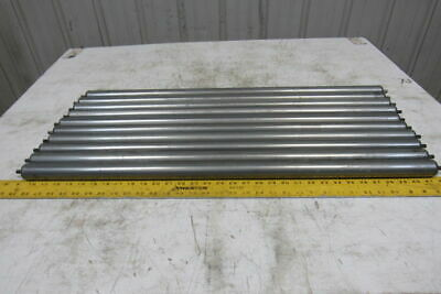 "Dematic 32"" BF 1-3/8"" Dia. Gravity Conveyor Roller 5/16"" Hex Axle Lot Of 10"
