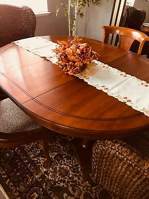 dining room set, Stickley, cherry, excellent condition