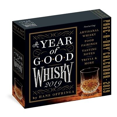 2019 Year of Good Whisky Desk Calendar, Wine, Beer & Spirits by Workman Publishi