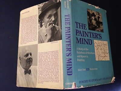 Signed ROMARE BEARDEN ~ A PAINTER'S MIND Study by CARL HOLTY & Bearden 1969 RARE