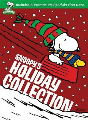 SNOOPY'S HOLIDAY COLLECTION New Sealed 3 DVD Set Peanuts Charlie Brown