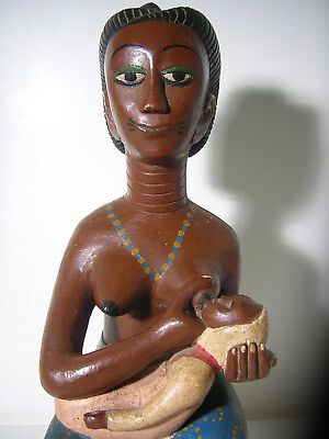 A fine ASANTE statue *** AFRICANTIC FRANCE *** Old African Tribal Primitive Art