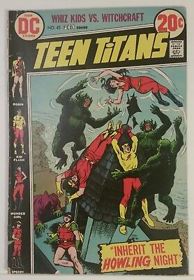 Teen Titans # 43 - Dc Comics - Jan.-Feb. 1973
