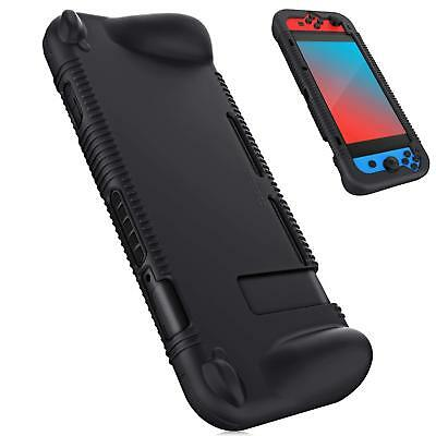 Soft Shock Proof Silicone Grip Case Cover For Nintendo Switch Console & Joy-Con