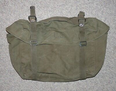 WW2 US Army Issue M1945 Cargo Field Pack, Olive Drab 1951 Dated