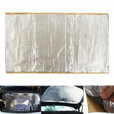 46x80cm 2mm Car Vehicle Sound Noise Proofing Deadening Insulation Damping Mat