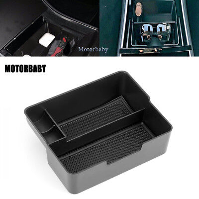 For Tesla Model 3 Center Console Tray with Coin and Sunglass holder