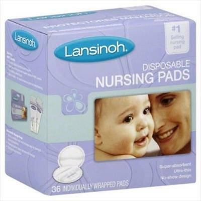 Lansinoh Nursing Pads Disposable 36 Count