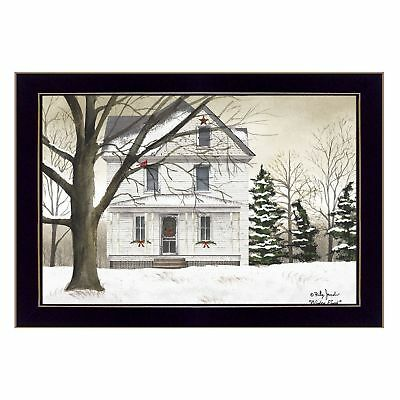 """""""Winter Porch"""" By Billy Jacobs, Printed Wall Art, Ready To Hang Framed Poster,"""