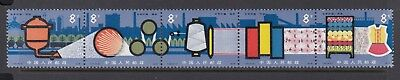 CHINA 1980 CHEMICAL INDUSTRY strip of 5, Mint Never Hinged